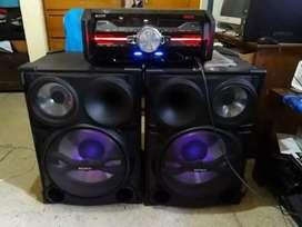 Equipo sony sh2000