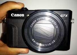 Cámara Canon PowerShot Serie G G7 X Mark II