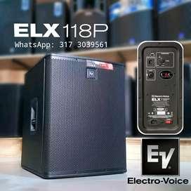 """BAJO ACTIVO DE 18"""" 700W ELECTROVOICE ELX118P"""