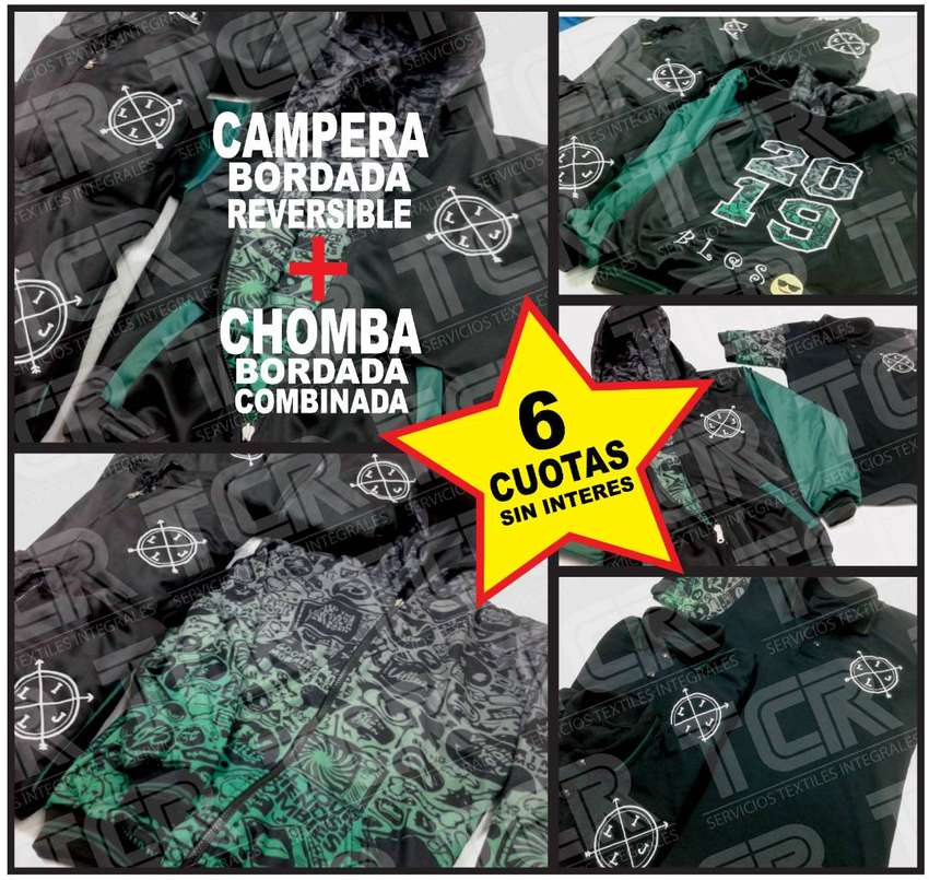 Campera Reversible + Chomba. EGRESADOS. Linea Premium. JARDIN, PRIMARIA, SECUNDARIA. ENVIOS TODO EL PAIS! 0