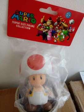 Muñeco Honguito de Mario Bros