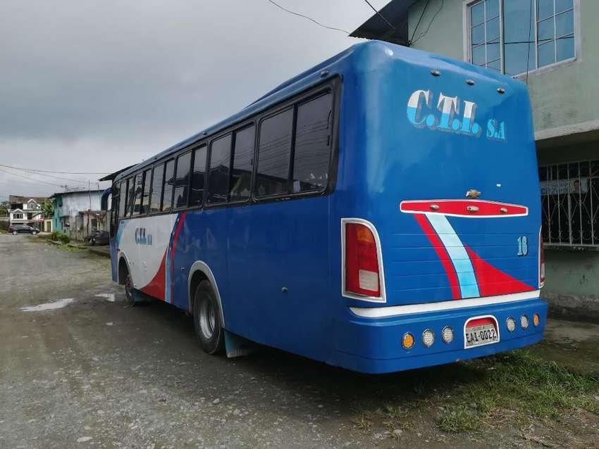 Vendo Bus Urbano Ftr con Todo Puesto 0