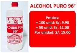 ALCOHOL PURO 96°