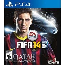 Fifa 14 PS4 - Formato Fisico