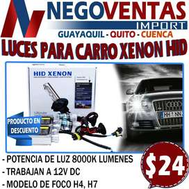 LUCES DE XENON HID PARA CARRO