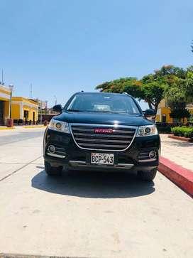 CAMIONETA HAVAL H6 SUV CERRADA ESPACIOSA. AUTOMÁTICA 2017