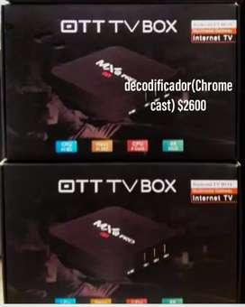 Tt tv box (chrome cast)