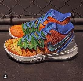 Botas Nike Kirye Bob Esponja Casa Piña Naranja Envio Gratis