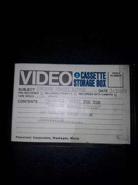 Cassette de beta de colección