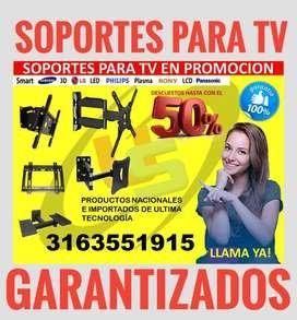 Soporte d' TV ergonómico bases DVD's