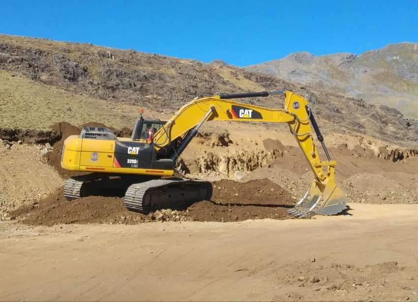 Alquilo Excavadora CAT 329 D2L