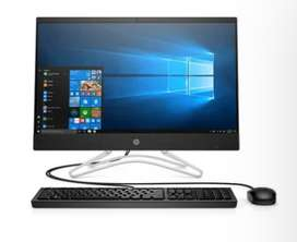 """All In One HP 22 042LA Core i5 Ram 4GB 1TB HDD 21.5"""" Linux Negro"""