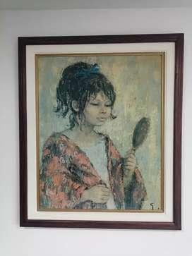 Cuadro Original pintado en oleo
