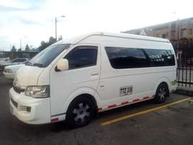 servicio de Vans para viajes