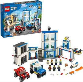 LEGO Police City Station 60246 Toy Fun Building Set for Kids New 2020 743 Pieces Ref:VS-US0035488