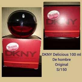 Colonia DKNY Delicious red de hombre