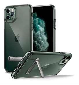 Case Spigen iPhone 11 Pro Max Ultra Hybrid Protector Con Apoyo