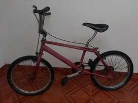 Vendo bicicleta de segunda mano