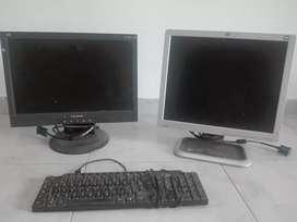 Se vende monitor Hp y otro  monitor View sonic