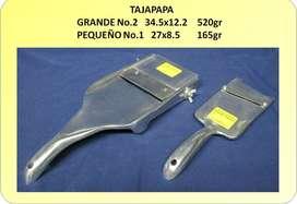 Tajapapa de aluminio
