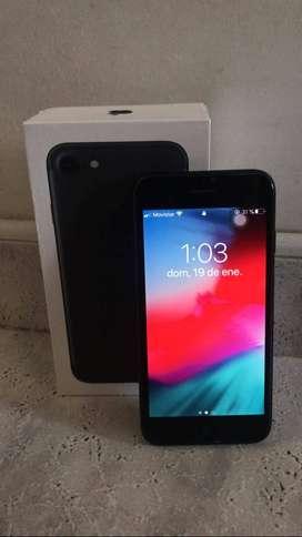 iPhone 7 32gb Perfecto Caja Negociable Y Accesorios