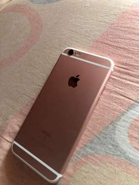 Iphone 6s rosado de 128gb