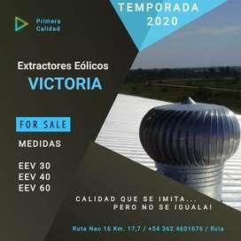 EXTRACTORES EOLICOS VICTORIA