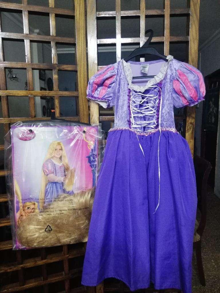 Disfraz Rapunzel con Pelica Incluida 0