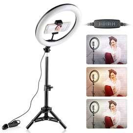 Tripode Aro De Luz 3 Tonos intensidades Profesional Selfie Tiktok