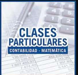 Clases particulares de Matemática y Materias Contables