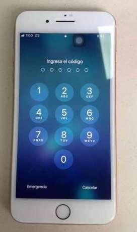 Iphone 8 plus 64 gb, excelente estado 10/10 funcional completamente.