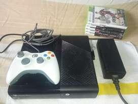Xbox 360 E Totalmente Original, incluye 6 juegos