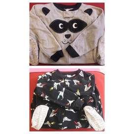 Pijamas para niño Marca Carters Talla 4T