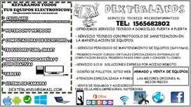 SERVICIO TECNICO ZONA OESTE, CELULARES, NOTEBOOKS, PC, IMPRESORAS, TV, EQUIPOS DE AUDIO