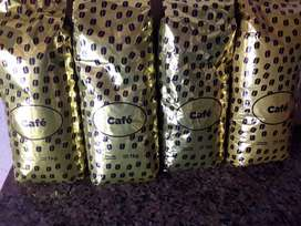 Venta de café tostado en granos