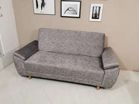 Vendo sofa cama gris