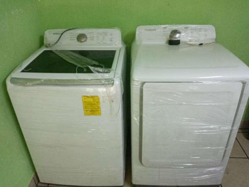 Vendo lavadora y secadora samsung 0