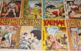 30 Revistas de Kalimán entre otras de tioRico