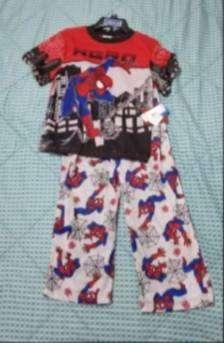 pijama hombre araña
