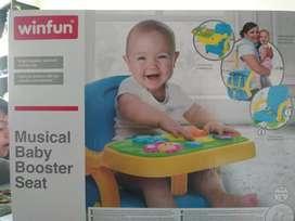 Silla para Bebe Musical Booster Seat