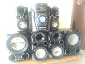 Vendo equipo sonido LG 6 parlantes