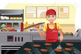 Auxiliar de cocina  Tiempo Completo
