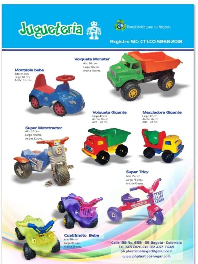 Triciclo volqueta Montables plasticos 0