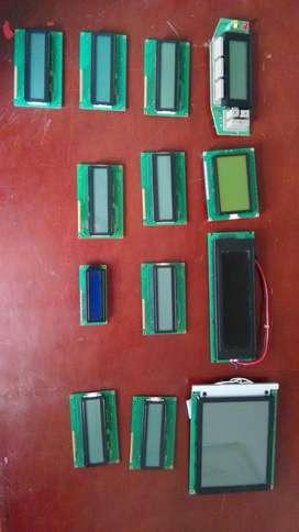 PANTALLAS LCD GRAFICAS / MODULO LCD SERIAL /DISPLAY LCD CARACTER