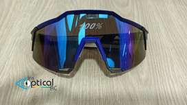 Gafas para cilismo con filtro para la protección solar.
