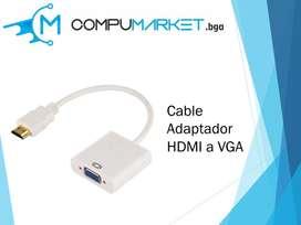 Cable Adaptador HDMI a VGA nuevo y facturado