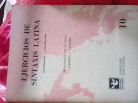 EJERCICIOS DE SINTAXIS LATINA ALBERTO VACCARO