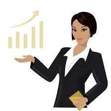 Ejecutiva de cuenta mujer