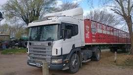 Scania 310 a bomba caja de 13