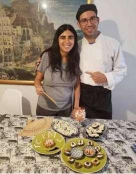Sushi Mes de los Enamorados con curso personalizado
